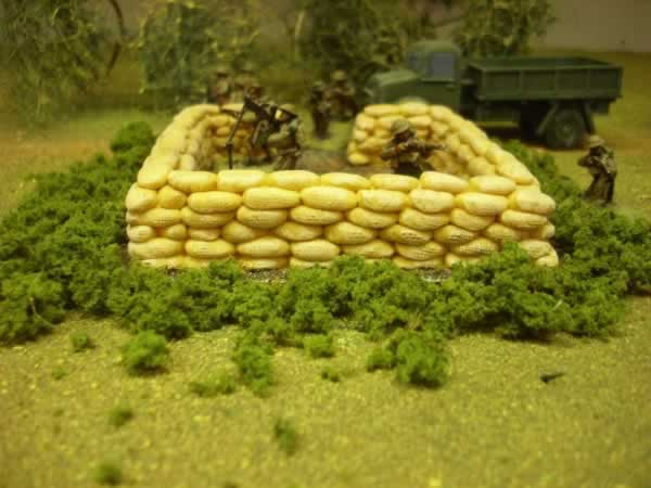 1:72 SAND BAGGED AA EMPLACEMENT