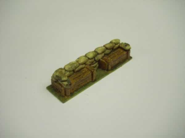 1:72 SAND BAGS AND BOXES BARRICADE