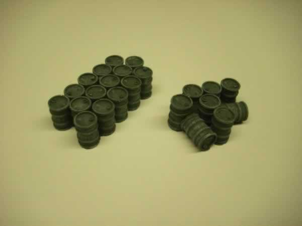 1:72 40GAL OIL DRUM STACKS x 2