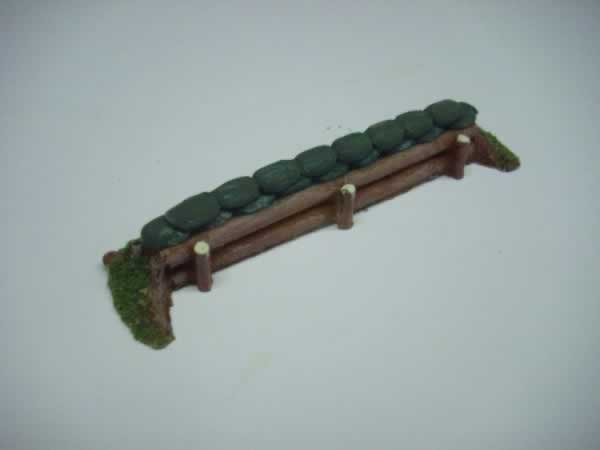 1:72 LOG/SANDBAG BARRICADE