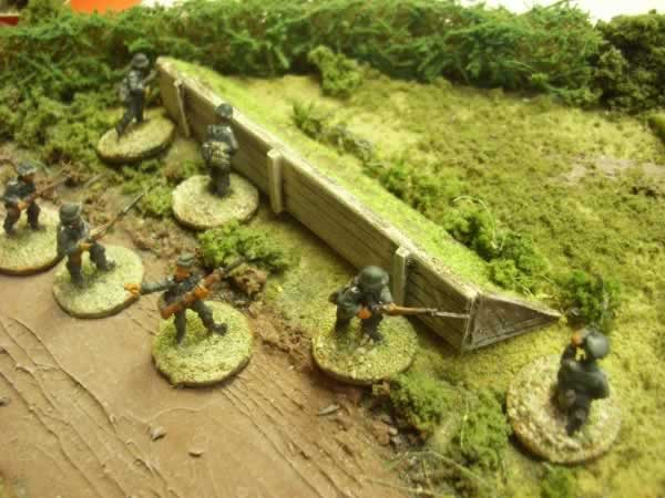 1:72 SHORT EARTHWORK WITH TIMBER