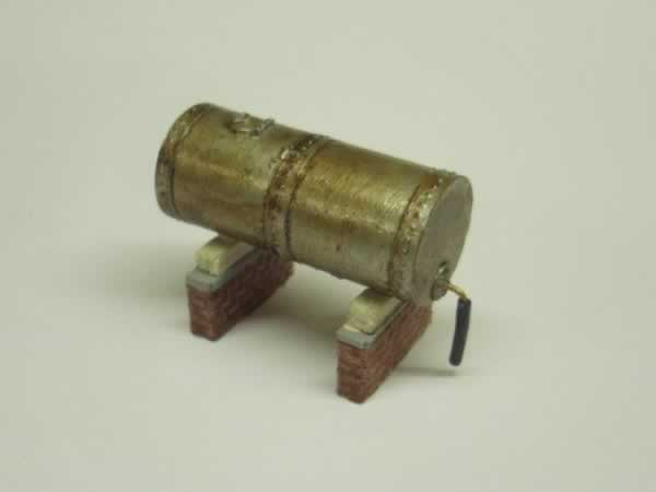1:76 OIL STORAGE TANK + SUPPORTS