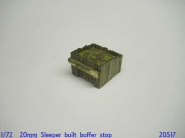 1:76 SLEEPER BUILT BUFFER STOP
