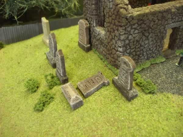 1:76  GRAVESTONES AND PLINTHS