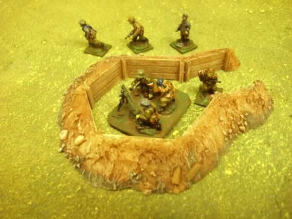 1:72 WOOD LINED ARTILLERY PIT