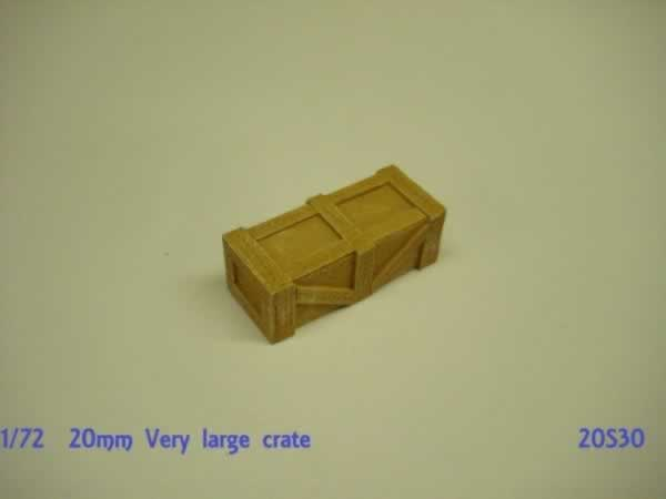 1:72 VERY LARGE CRATE