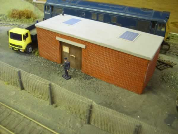1:76 BRICK BUILT WORKSHOP