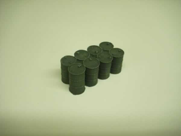 1:48 scale 8 OIL DRUMS