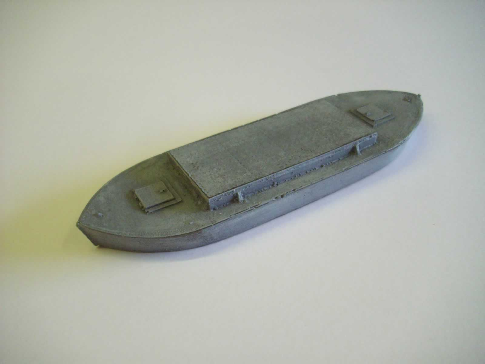 STEEL BOAT FOR PONTOON BRIDGE