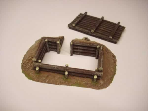 1:56  ROOFED LOG BUNKER
